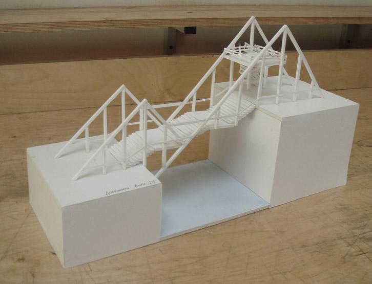 Макет мост из бумаги своими руками